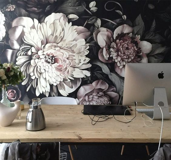 Floral Interiors – Bold and Impacting