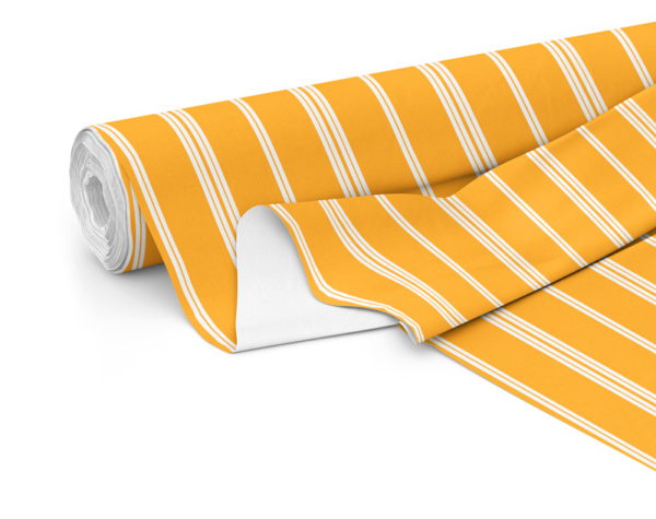 Fabric roll with Wander print in Zest